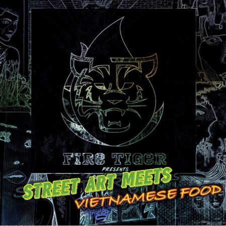 STREET ART MEETS VIETNAMESE FOOD
