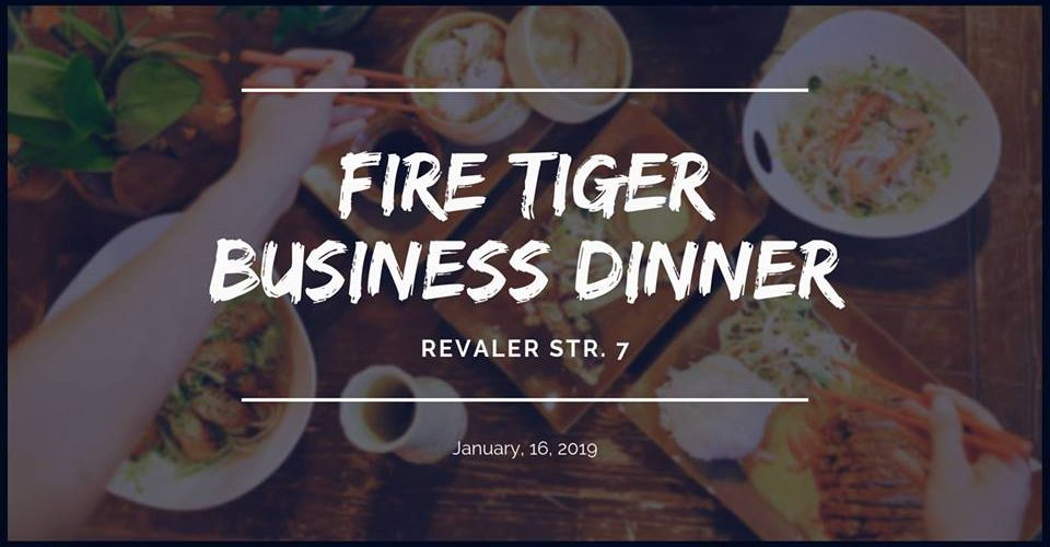 Fire Tiger Business Dinner