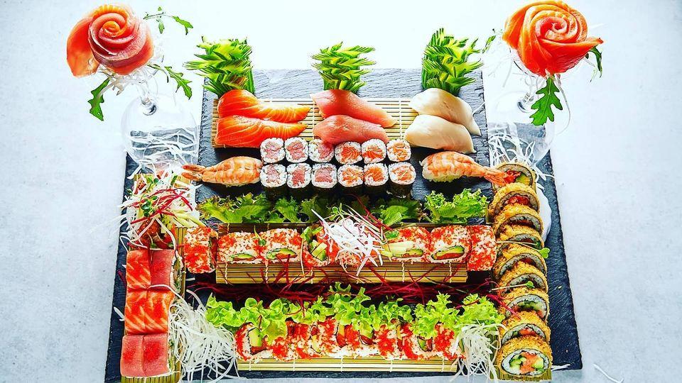 Sushi ist gut für das Herz